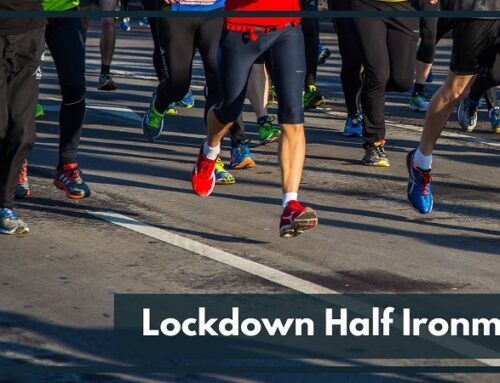 Fraser Peston – Lockdown Half Ironman